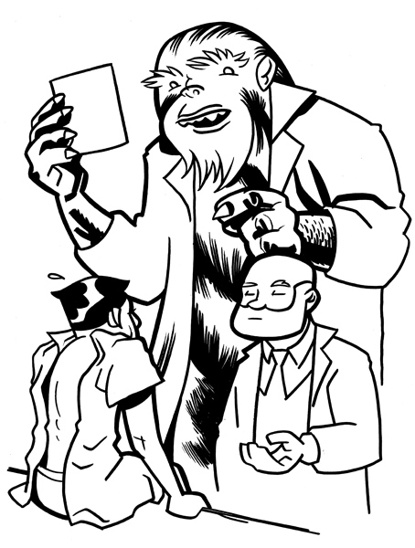 Dr. Bigfoot for the CBLDF