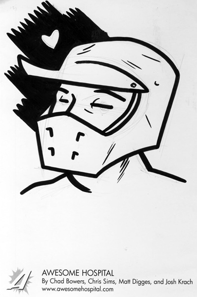Dr. Dirtbike Sketch by Matt Digges
